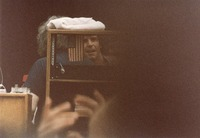 Grateful Dead: Bob Weir with Jerry Garcia (obscured)