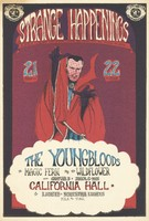 Youngbloods, The Magic Fern and The Wild Flower, also Chapter 3 of Junior G-Men - Space Ace Presents Strange Happenings, A Dance Concert with Bands, Lights, and Vaudeville all Giggley & Weird - July 21-22 [1967] - California Hall