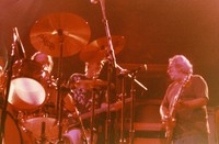 Jerry Garcia Band, ca. 1980s: David Kemper, Jerry Garcia, John Kahn
