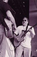 Jorma Kaukonen, with Michael Falzarano in the foreground