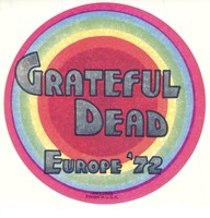 Grateful Dead - Europe '72 [promotional sticker]