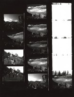 Grateful Dead at Red Rocks Amphitheater: contact sheet with 10 images