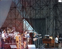 Grateful Dead: Mickey Hart, Phil Lesh, Bob Weir, Jerry Garcia, and Brent Mydland