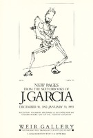 New Pages from the Sketchbooks of J. Garcia / Weir Gallery, December 10, 1992 - January 30, 1993