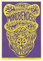 Mindbenders, The Chocolate Watch Band - From England - Presented in San Francisco by Bill Graham, July 8-9 [1966] - Fillmore Auditorium