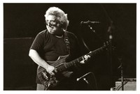 Jerry Garcia with the guitar Rosebud