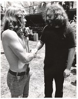 Jerry Garcia and a Deadhead