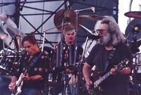 Grateful Dead: Bob Weir, Bill Kreutzmann, and Jerry Garcia