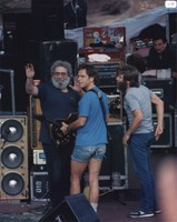 Grateful Dead: Jerry Garcia, Bob Weir and Brent Mydland