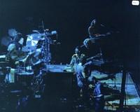 Grateful Dead and Carlos Santana: Bill Kreutzmann, Mickey Hart, Carlos Santana, Bob Weir, Jerry Garcia, Phil Lesh, Vince Welnick