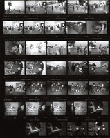 "Grateful Dead: ""Throwing Stones"" video shoot: contact sheet V of 34 images"