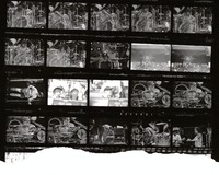 Grateful Dead and Dan Healy: contact sheet with 20 images