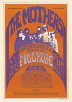 The Mothers, Oxford Circle - Bill Graham Presents in San Francisco - September 9 [1966], Fillmore Auditorium - September 10, Scottish Rites Temple