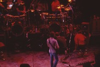 """Grateful Dead So Far"" production: Bill Kreutzmann, Bob Weir, Mickey Hart, with unidentified crew members"