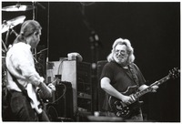 Grateful Dead, ca. 1989: Bob Weir and Jerry Garcia