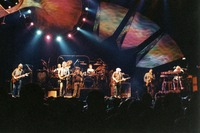 Grateful Dead, with lighting effects