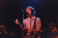 Grateful Dead: Bob Weir, with Phil Lesh in the background