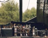 """Grateful Dead: Bill Kreutzmann, Mickey Hart, and Carter Beauford performing """"Drumz"""""""