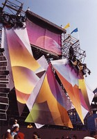 Grateful Dead at Rich Stadium: set design