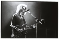 "Grateful Dead: ""Touch of Grey"" video shoot: Jerry Garcia skeleton"