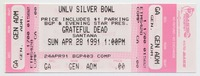 BGP and Evening Star Present - Grateful Dead, Santana - UNLV Silver Bowl - April 28, 1991