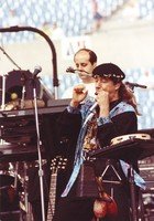 Steve Miller Band: Norton Buffalo and unidentified musician