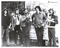 New Riders of the Purple Sage, April 1970: Dave Torbert, David Nelson, Mickey Hart, Jerry Garcia and John Dawson