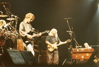 Grateful Dead: Bob Weir, Jerry Garcia and Brent Mydland