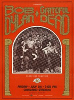 Bob Dylan / Grateful Dead - Alone and Together. A Day on the Green. July 24, 1987, Oakland Stadium