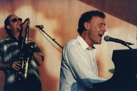 Steve Berlin and Bruce Hornsby
