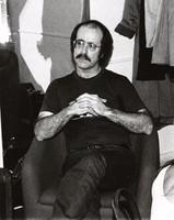 Robert Hunter backstage at Wolfgangs at a Dinosaurs concert