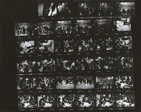 Deadheads during a three-day Grateful Dead Dance Marathon: contact sheet with 35 images