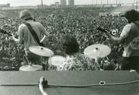 Grateful Dead: Phil Lesh, Bill Kreutzmann, and Jerry Garcia, from the back