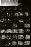 Grateful Dead in New York: contact sheet with 34 images