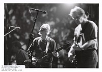 Grateful Dead: Phil Lesh, with Bob Weir in the foreground