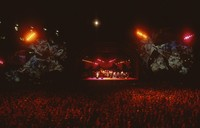 Grateful Dead, ca. 1991: distant view of the stage