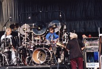 Grateful Dead: Bill Kreutzmann, Mickey Hart and Jerry Garcia