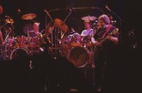 """Grateful Dead So Far"" production: Bill Kreutzmann, Mickey Hart, and Jerry Garcia"