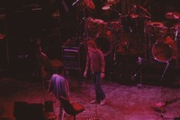 """Grateful Dead So Far"" production: Bob Weir with unidentified crew member"