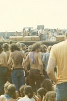 Grateful Dead: Jerry Garcia, Bob Weir, Bill Kreutzmann, with unidentified others