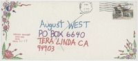 Anonymous (no return address, postmarked San Jose, CA)