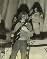 Phil Lesh with unidentified dancers