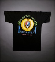 "T-shirt: Bear juggling peaches. Back: ""Grateful Dead / Atlanta / March 20, 21, 22, 1993"""