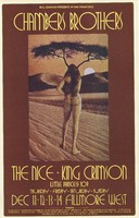 Chambers Brothers, The Nice, King Crimson - Lights: Little Princess 109 - Bill Graham Presents in San Francisco - Fillmore West - December 11-14, 1969