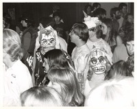 Deadheads at the Grateful Dead's Halloween concert