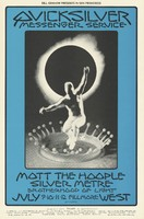 Quicksilver Messenger Service, Mott the Hoople, Silver Metre - Lights by Brotherhood of Light - Bill Graham Presents in San Francisco - Fillmore West - July 9-12, 1970