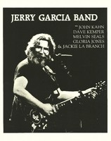 Jerry Garcia Band with John Kahn, Dave Kemper, Melvin Seals, Gloria Jones & Jackie La Branch