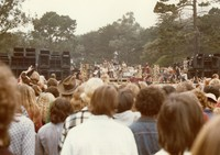 Grateful Dead: far view of the stage