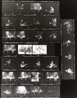 Grateful Dead at the Orpheum Theatre: contact sheet with 31 images