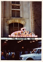 Grateful Dead at the Mosque: view of the marquee